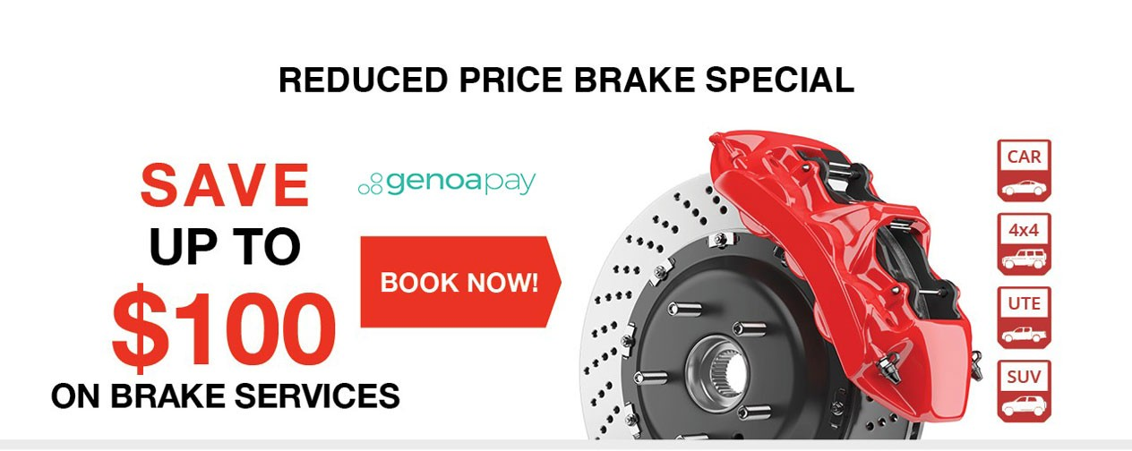 Reduced Price Brake Special