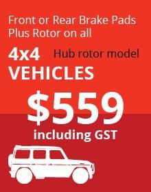 4x4 Hub Rotor Vehicles