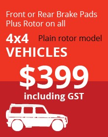 4x4 Plain Rotor Vehicles