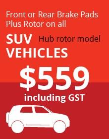 SUV Hub Rotor Vehicles