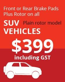 SUV Plain Rotor Vehicles