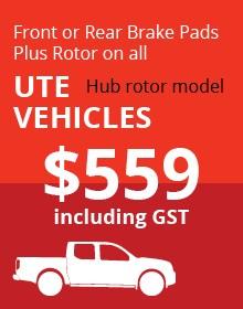 UTE Hub Rotor Vehicles