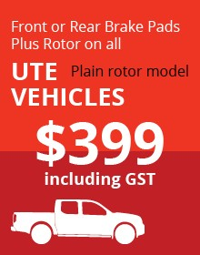 UTE Plain Rotor Vehicles