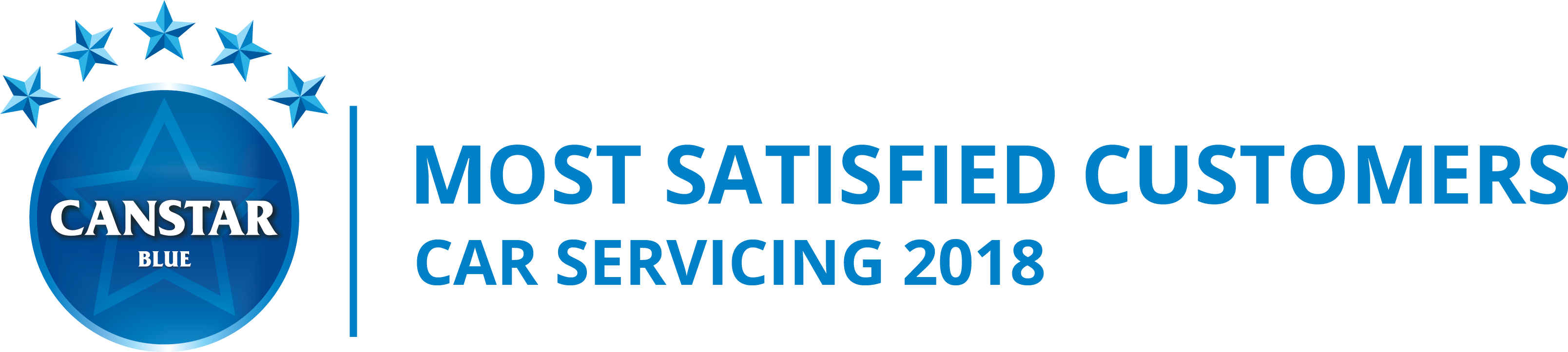 Canstar Blue Most Satisfied Customer Award, Car Servicing 2018